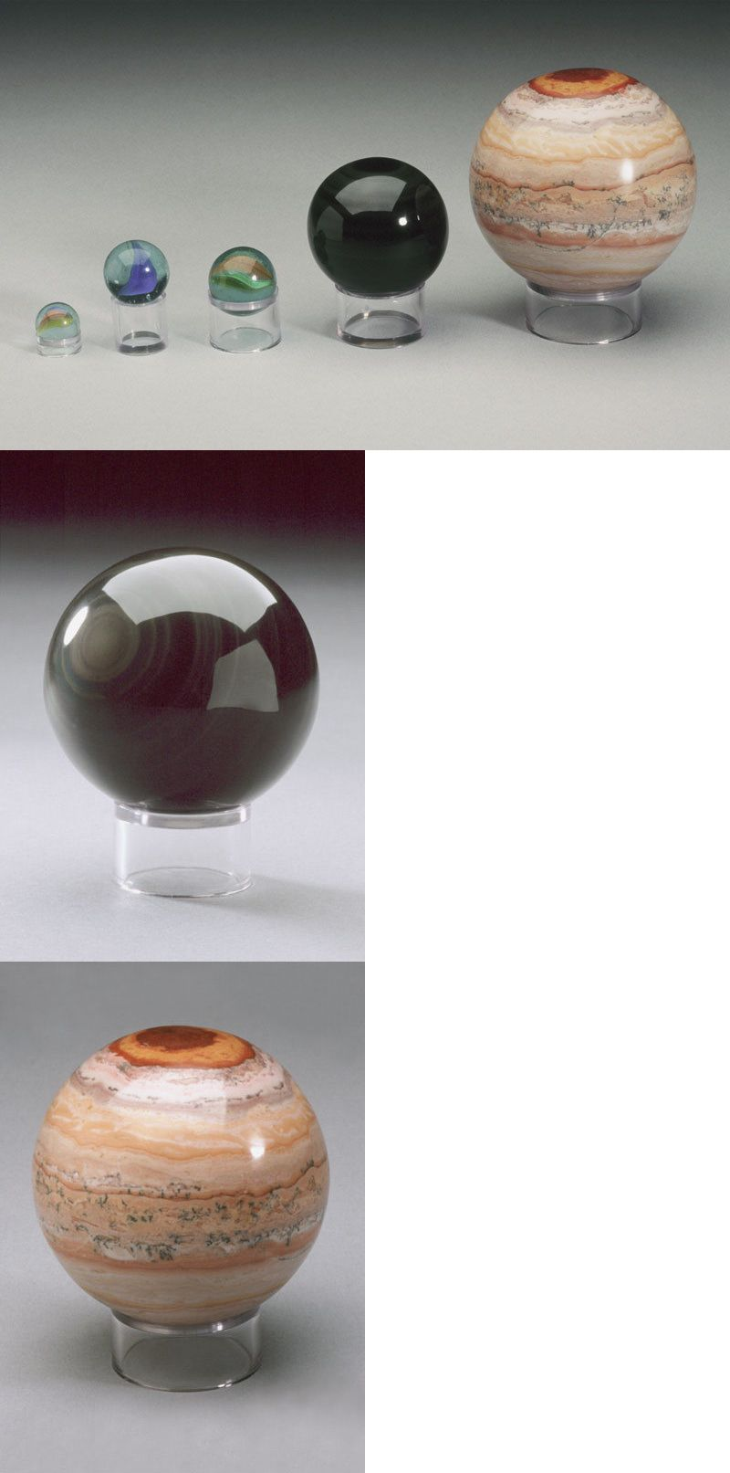 Marbles 58799 Cylinder Display Stands For Spheres Marbles Balls