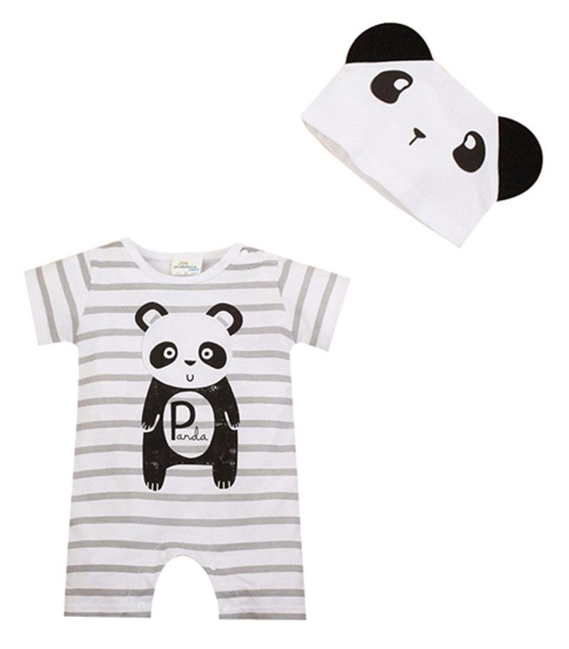Baby Rompers Summer Baby Boy Clothes Cartoon Newborn Baby Clothes 2017 Baby Girl Clothing Sets Cotton. Click visit to buy