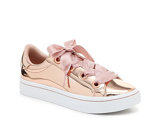 Women Street Hi Lites Liquid Bling Sneaker Rose Gold