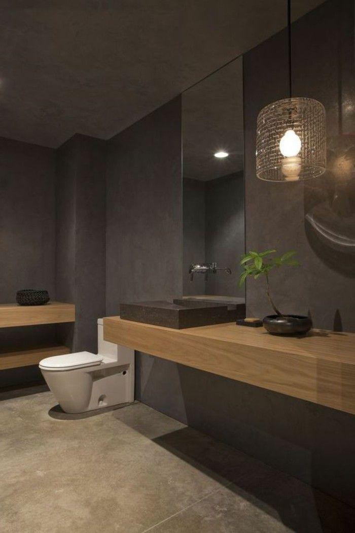 badgestaltung ideen moderne bader badezimmer in grau gestalten - badezimmer fliesen beispiele