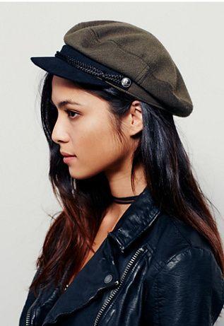 Brixton Womens Alexa Lieutenant Hat  ba88ee053c