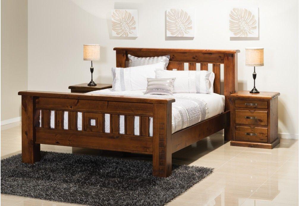 Queen Bed Frame Early Settler: Settler 3 Piece Queen Bedroom Suite