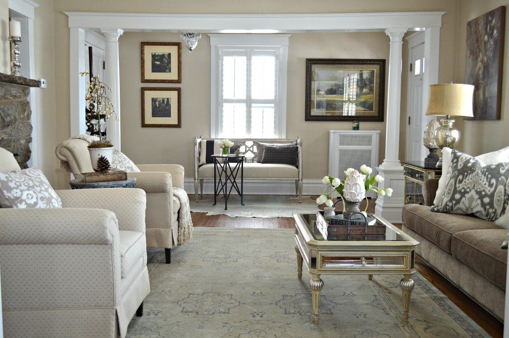 Updated Traditional Interior Christopherhuffer