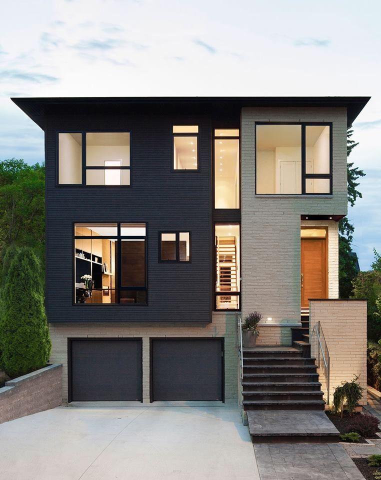 Modern house all about house Pinterest Façades, Maisons