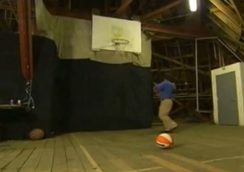 Invisible Themepark Disneyland Matterhorn Secret Basketball Court Inside Basketball Court Basketball Floor Basketball