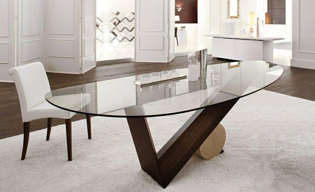 table de salle manger de design italien par cattelan italia - Table Design Italienne
