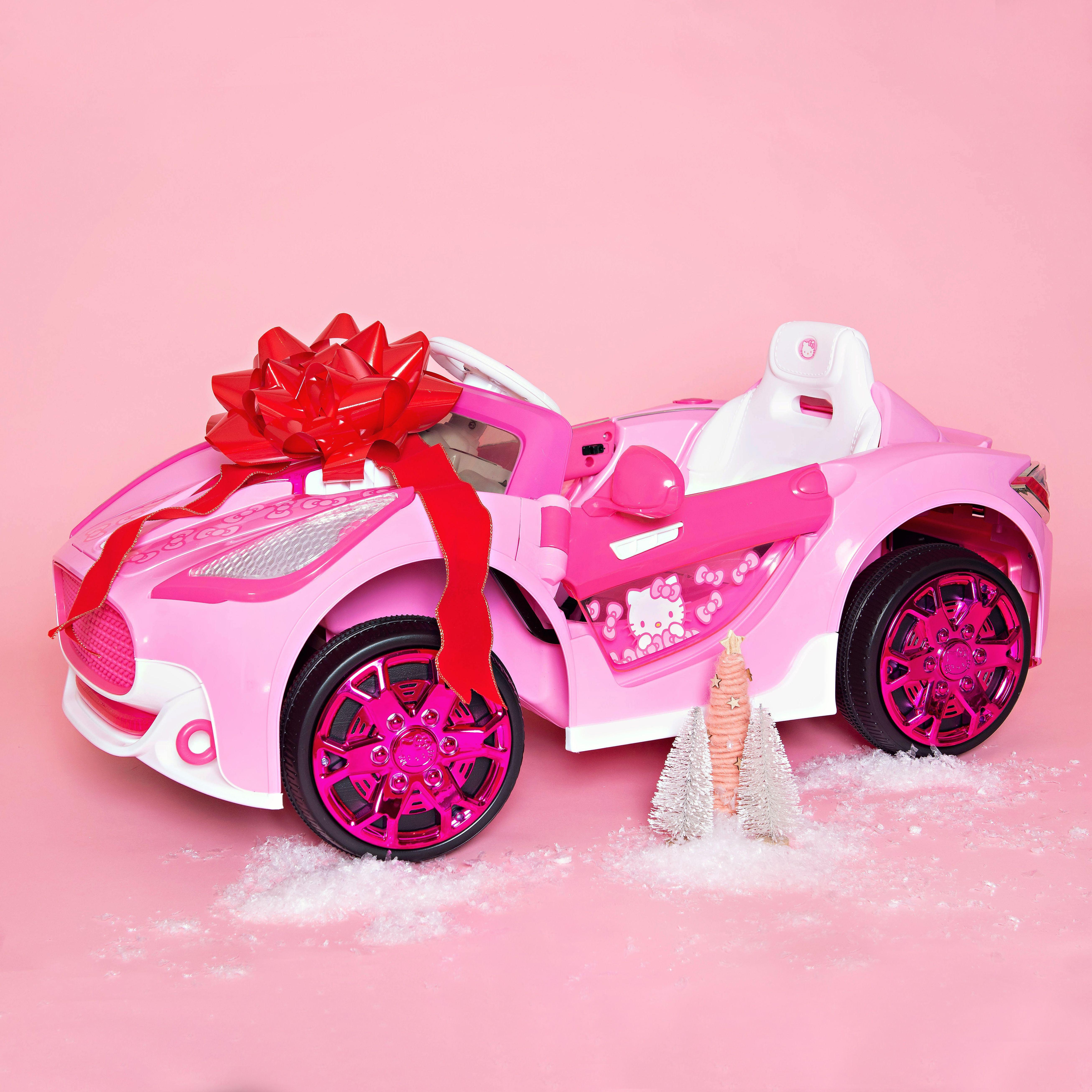 Hello Kitty 6v Super Car Hello Kitty Hello Holiday Kitty