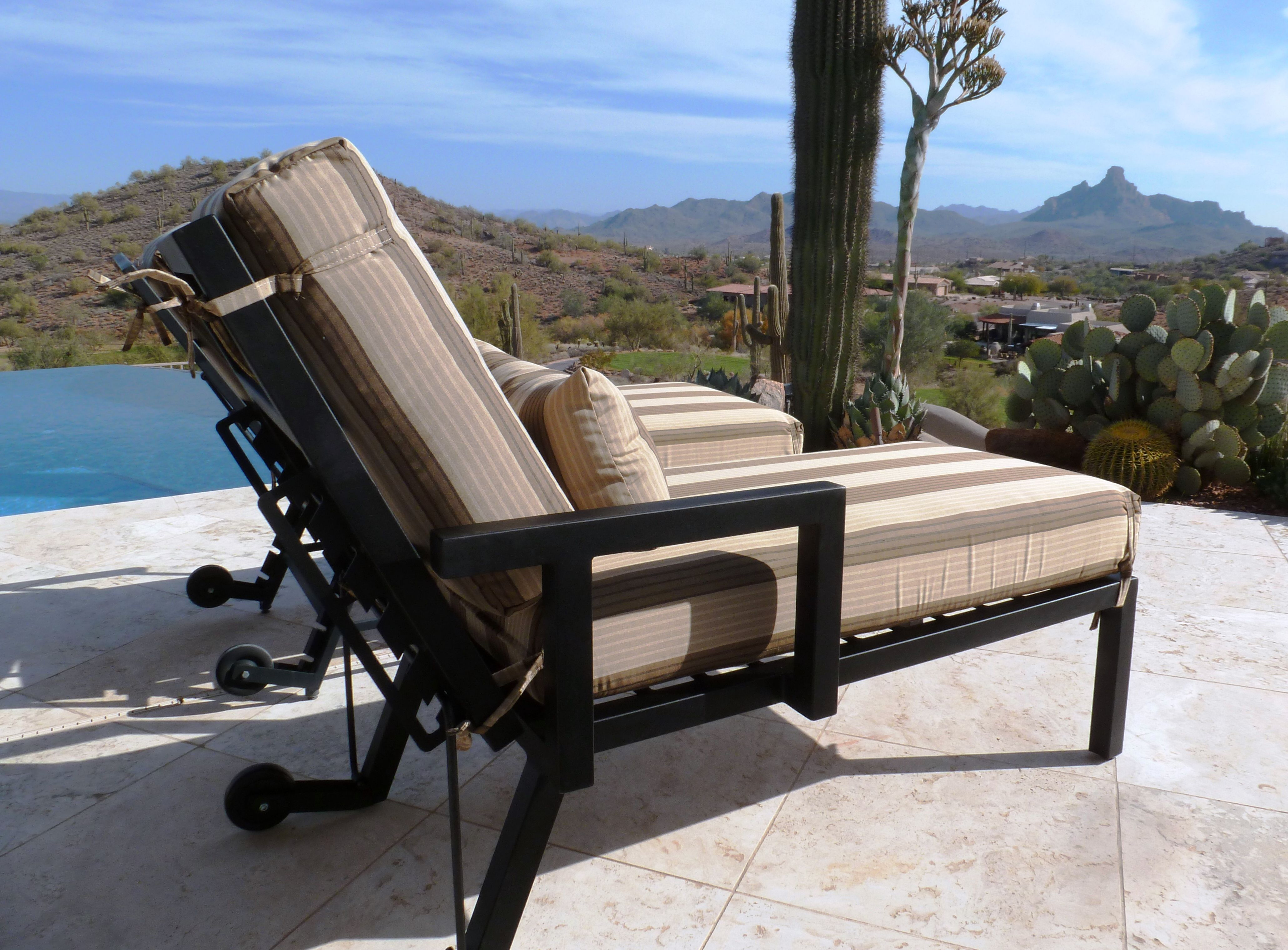 Ready For Summer. Chaise Lounge Chair. Arizona Living ...