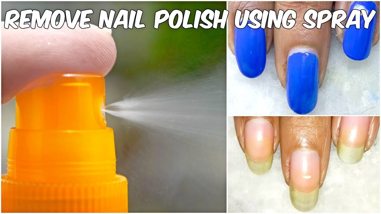 Best way to remove nail polish without nail polish remover