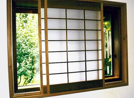Modern Window Treatments Hometone Modern Window Treatments Modern Windows Shoji Screen