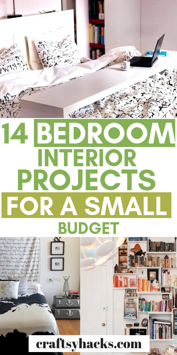 14 Bedroom Decor Projects For A Small Budget Quirky Home Decor