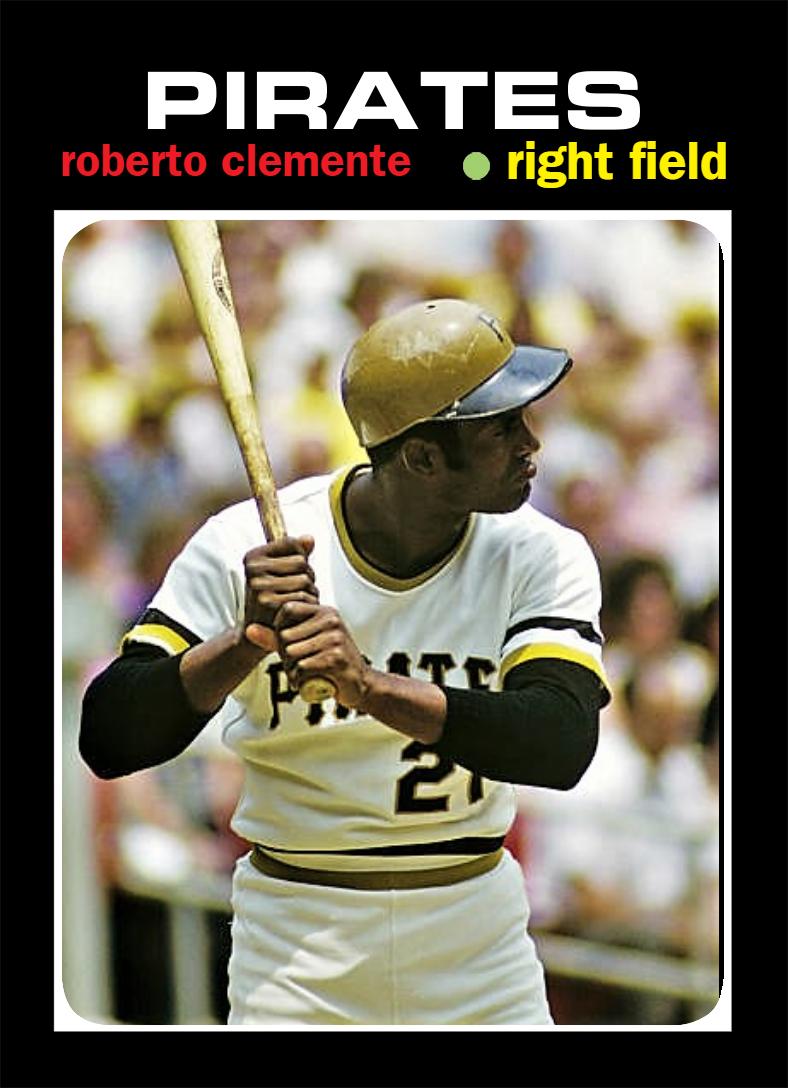 Pin By Brock Brock On Roberto Clemente Baseball Cards Pirates Baseball Roberto Clemente