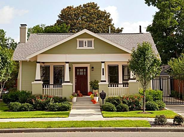 Boost Your Curb Appeal With A Bungalow Look: Craftsman House Plans, Craftsman