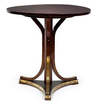 Jugendstil Und Art Deco Otto Wagner Zugeschrieben Runder Tisch Nr 8050 Jugendstil Mobel Jugendstil Art Deco Mobel