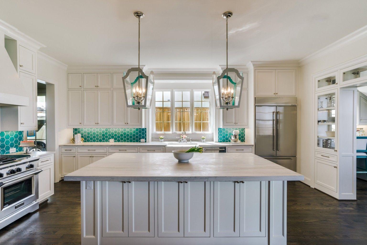- Whimsical White Macaubas Quartzite Kitchen White Macaubas