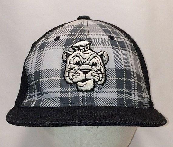 newest 760ec 336d6 ... norway vintage lsu tigers baseball cap nike hat louisiana state  university college hats for men plaid