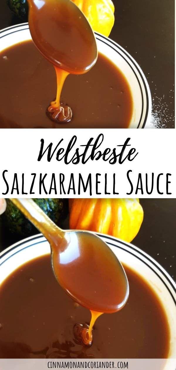Salted Caramel Sauce #homemadesweets