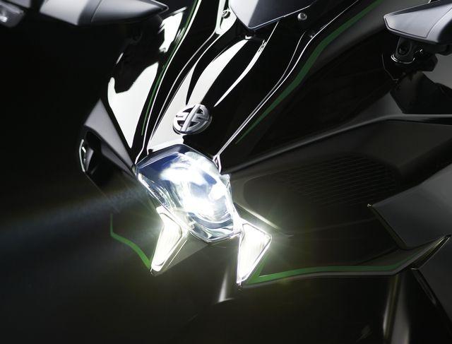 2015 Kawasaki Ninja H2. Supercharged insanity. #Kawasaki #NinjaH2 #WoodsCycleCountry