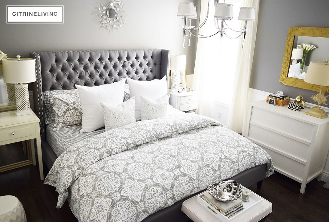 HOW TO CREATE THE PERFECT CURATED BEDROOM Mismatched