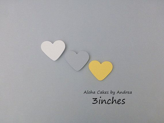 Heart Cut Large Confetti Out By Alohacakesbyandrea