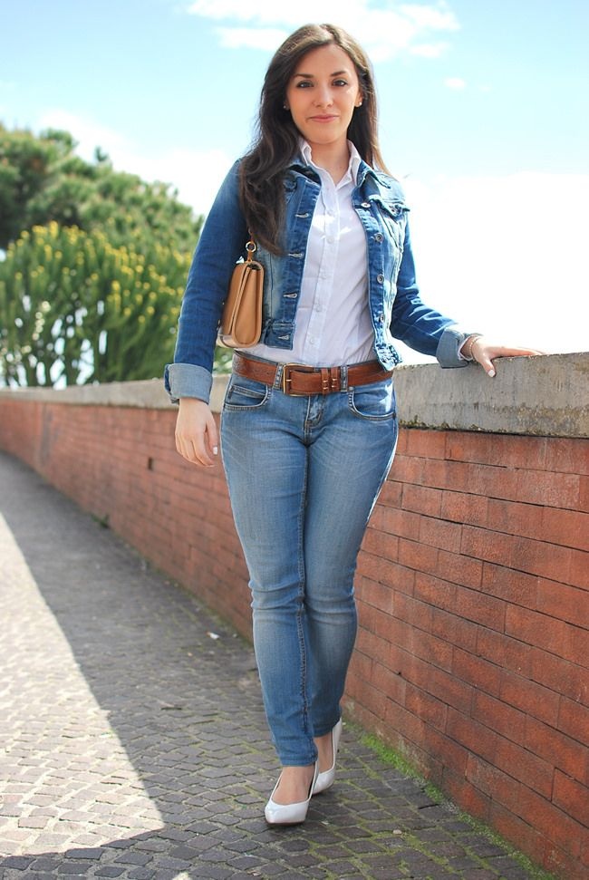 Resultado de imagen para jeans belt girl  40f8ca8333d4