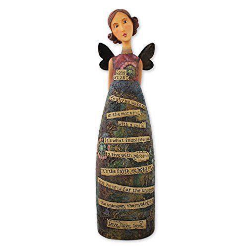 Kelly Rae Roberts Love Wide Angel Figurine