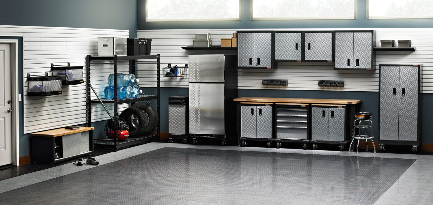 Garage organization tips new home designs the best garage - Gladiator Ready To Assemble Medium Garage Storage Kit At The Home Depot Mobile