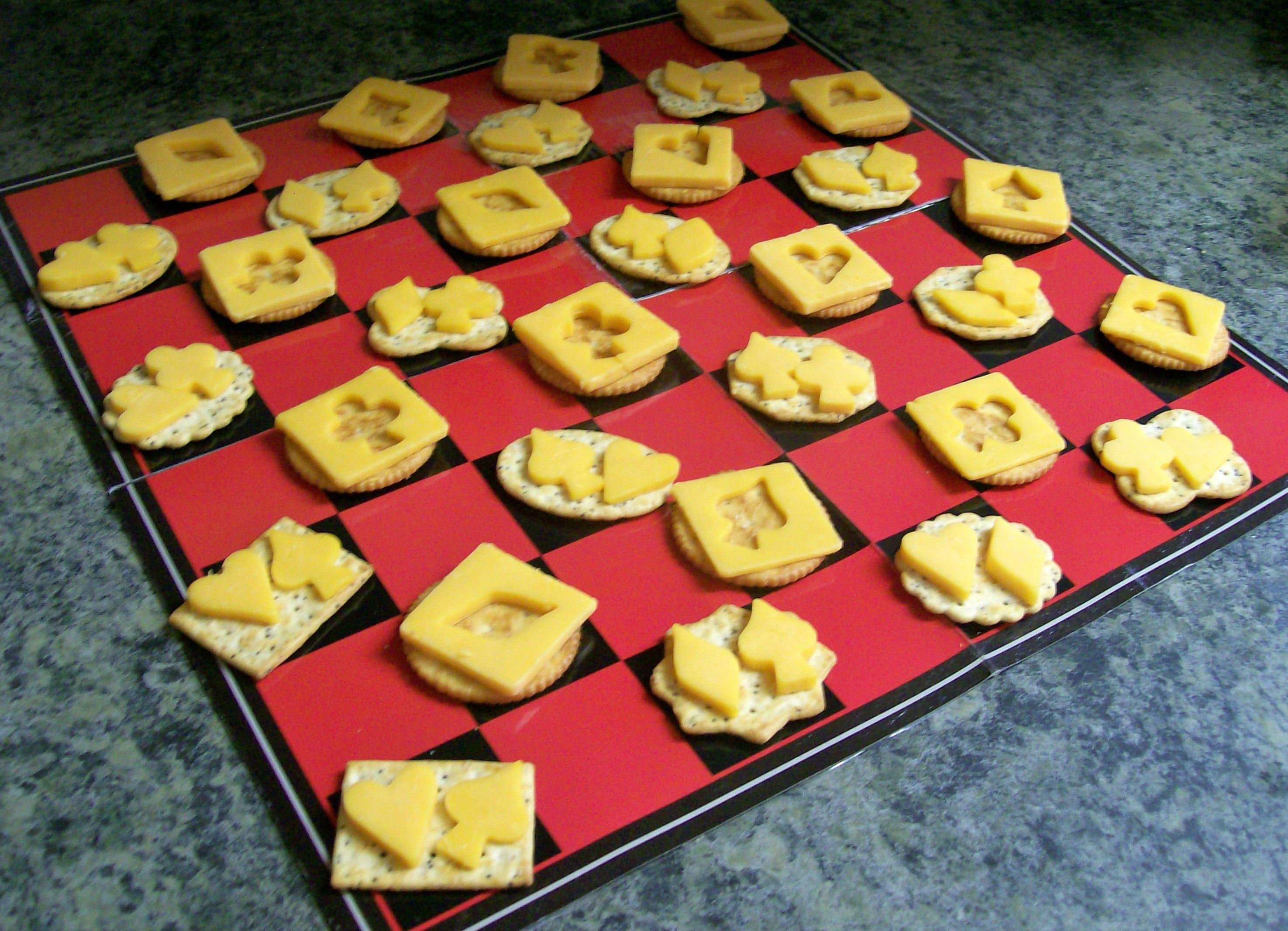 game night recipe cheese crackers that suit Game night