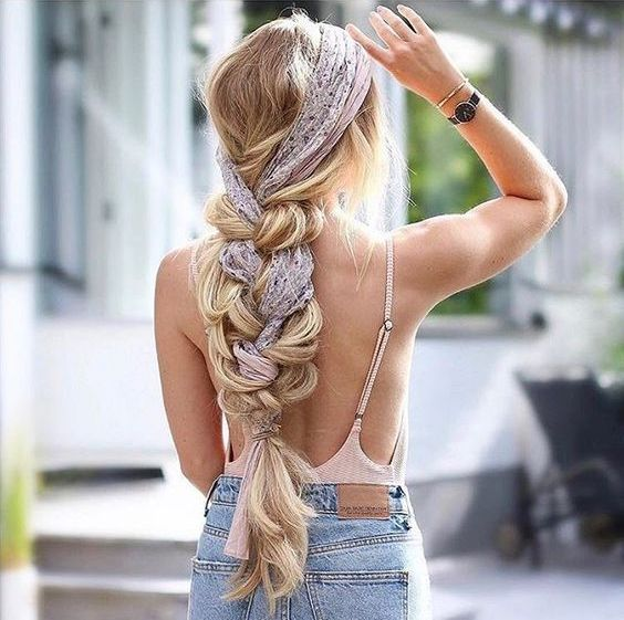 54 HEADSCARF HAIRSTYLES MAKE YOU THE FOCUS IN THE PARTY