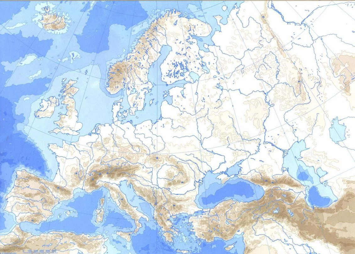 mapa FISICO EUROPA  Busca de Google  g hidrosfera  Pinterest