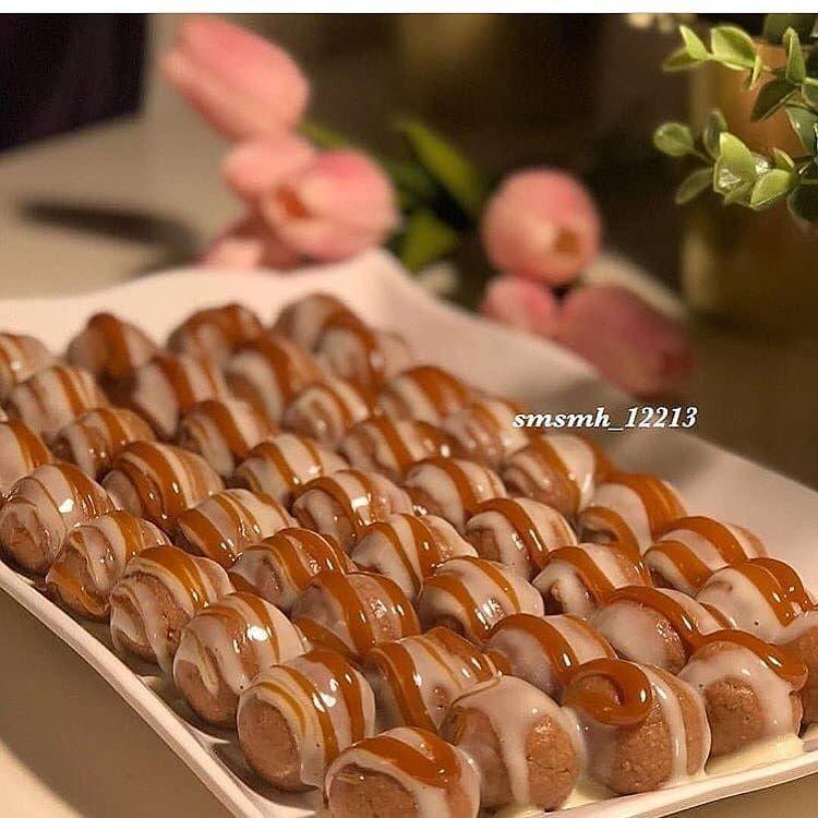 وصفة منقولة ك رات النوتيلاالشهيه كوب حليب نيدو بودره محمص 2باكيت بسكوت الشاي او Food Chocolate Bar Sweet