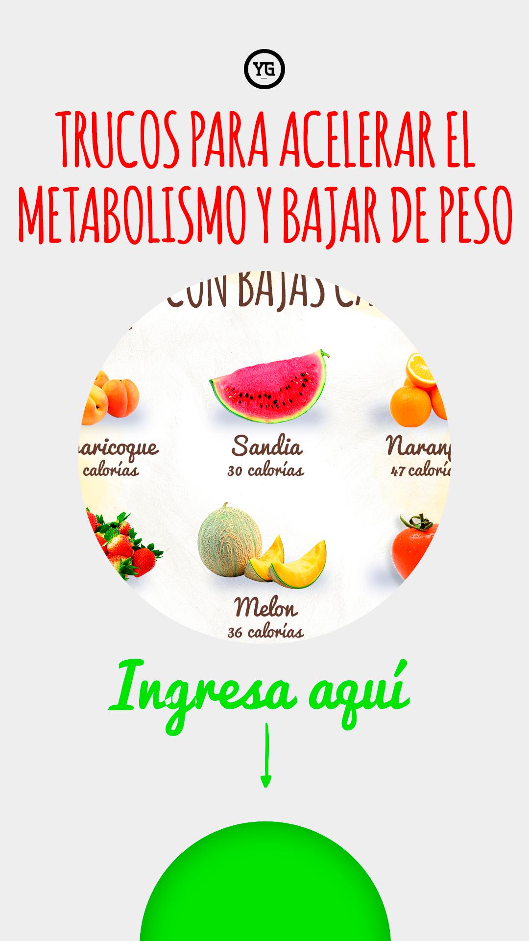 Como Tener Un Metabolismo Rapido