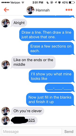 pick up lines for internet dating