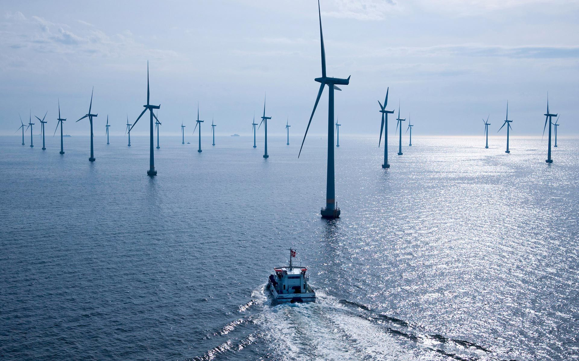 Windmill Wallpaper Backgrounds Boat Windmills Desktop Wallpapers And Backgrounds Offshore Wind Farms Wind Farm Offshore Wind Turbines