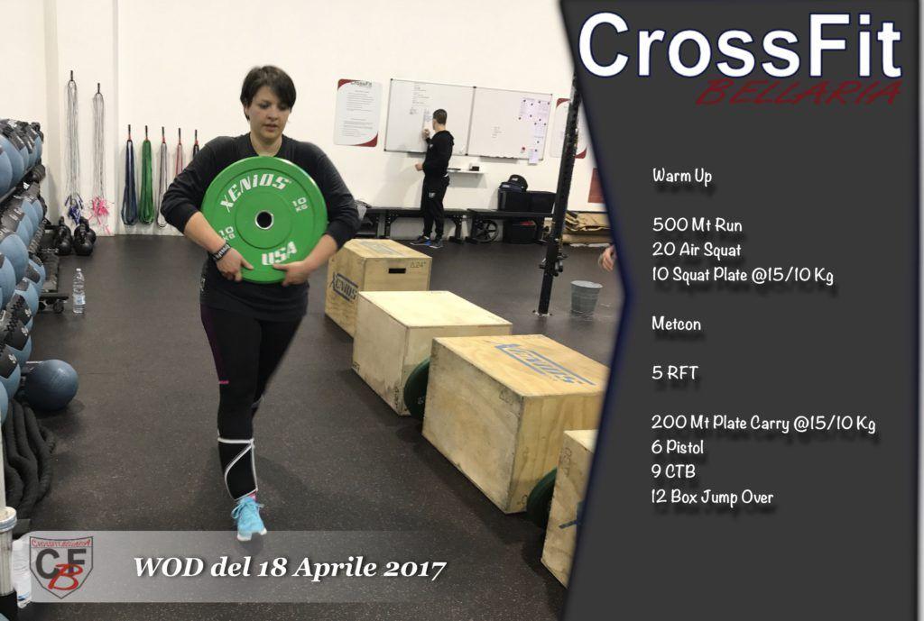WOD del 18 Aprile 2017