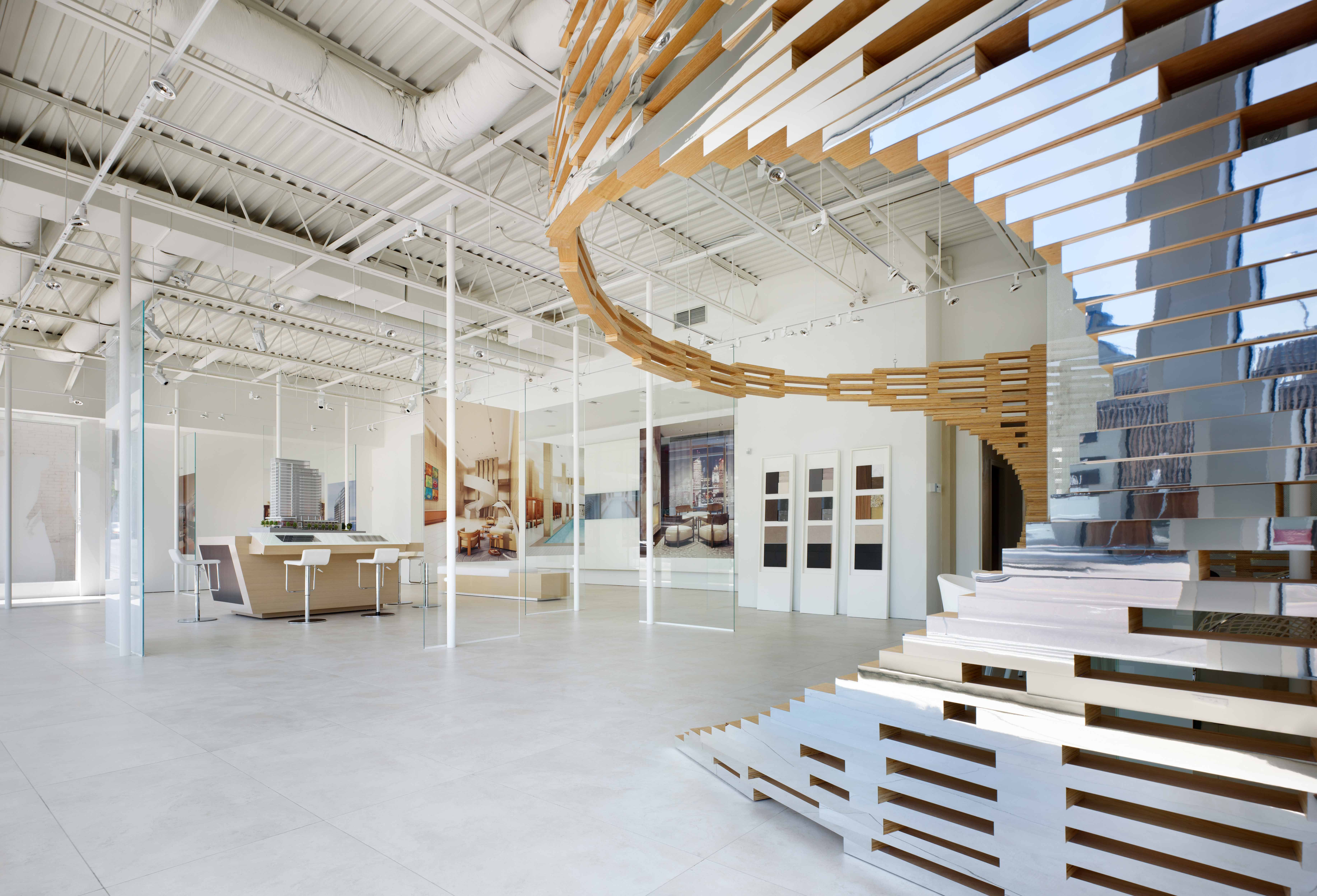 Toronto, Canada. Designed by Studio Munge. Developer: Menkes Developments.