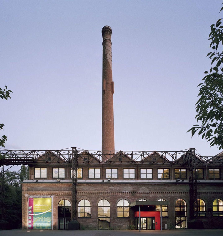 S & AA, Florian Tiedje · Multimedia Library em uma antiga fábrica. Erstein, França · Divisare