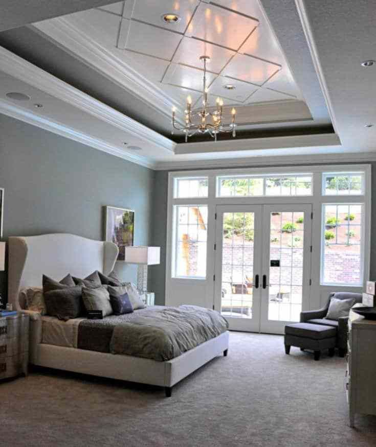 20 Simple Tray Ceiling Design To Make Your Room More