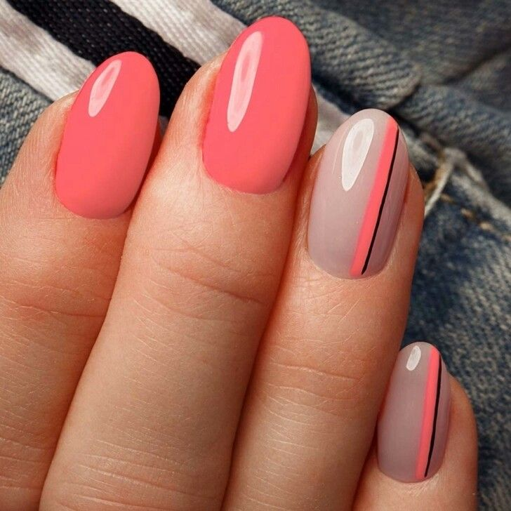 Coral ombré for summer!! Love it!!   Coral ombre, Nails, Coral