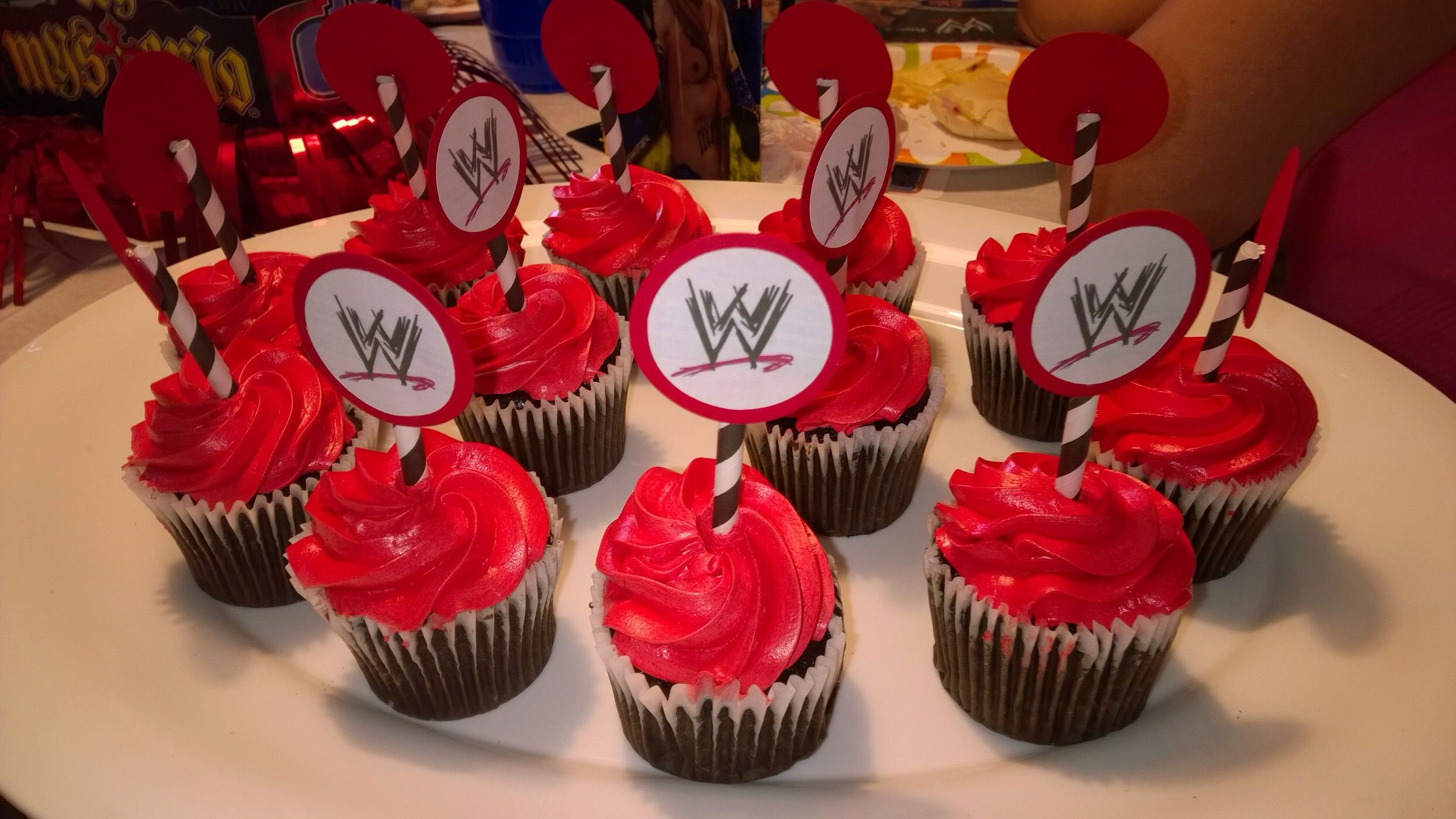 Wwe Cupcake Toppers By Lyss