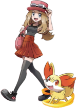 Serena Game Bulbapedia The Community Driven Pokemon Pokemon X Y Trailer Shows Evolved Forms Of Starters Pokemon X Y V S Deviantart Pokemon Pokemon Pokemon X