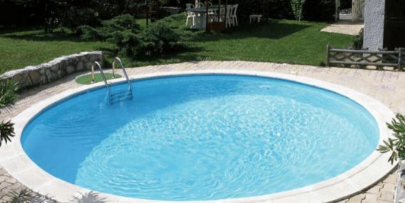1 modelos de piscinas redondas piscinas pinterest - Piscina pequena plastico ...