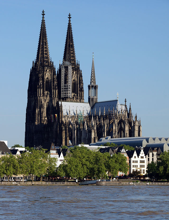 Most Beautiful Churches In Europe Cathedral Cologne Cathedral Church Building