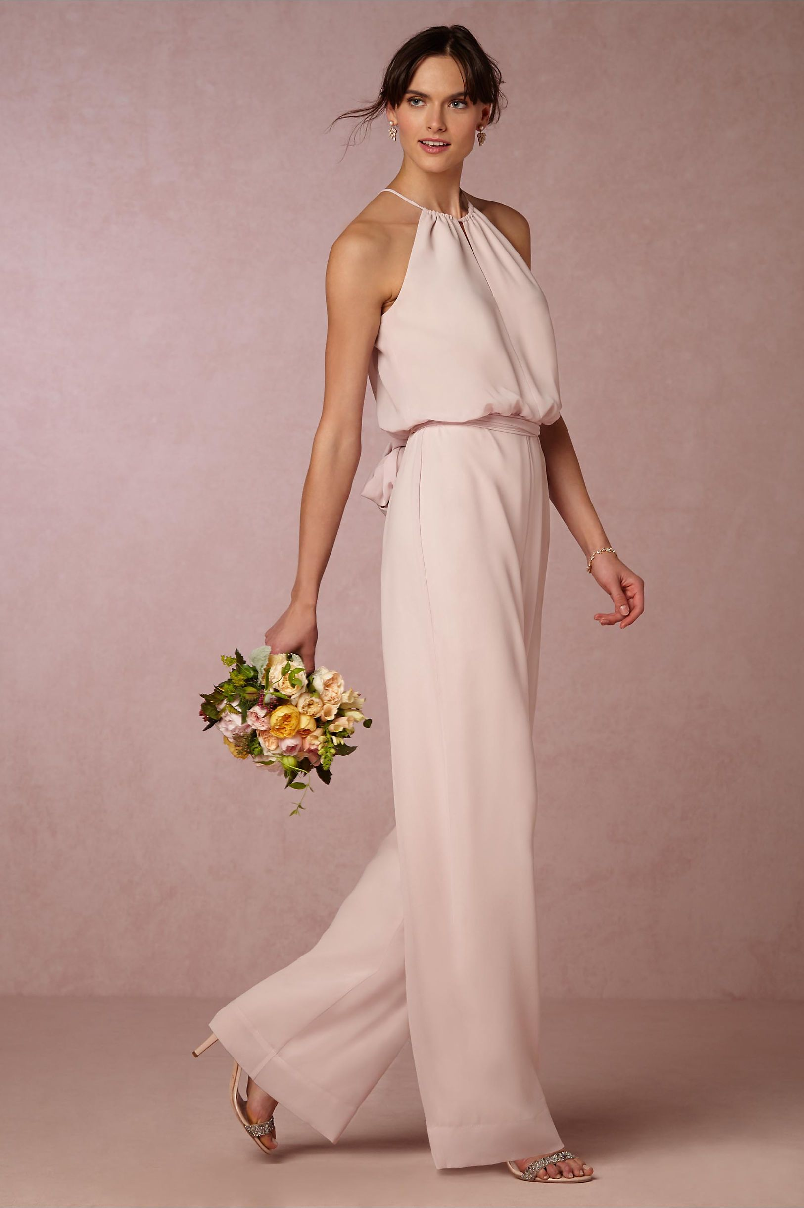 BHLDN Jackie Jumpsuit in Bridesmaids View All Dresses at BHLDN ...