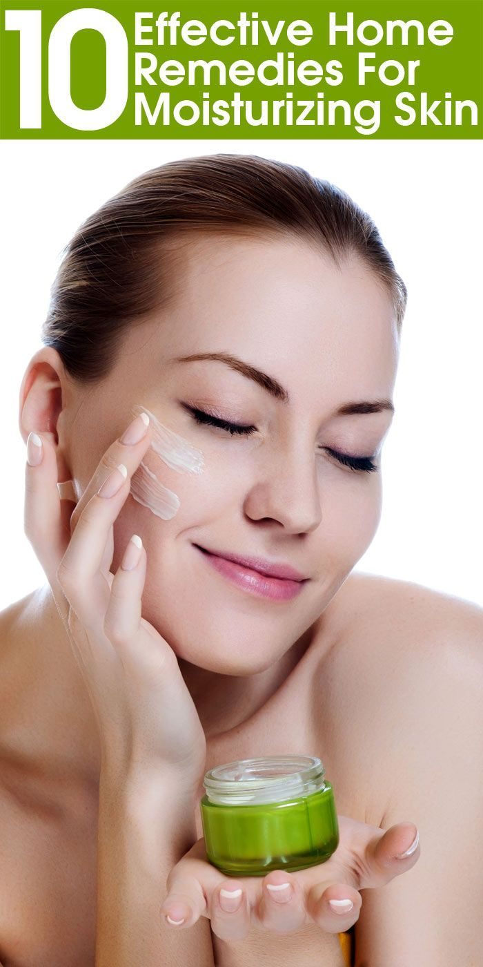 10 Effective Home Remedies For Moisturizing Skin