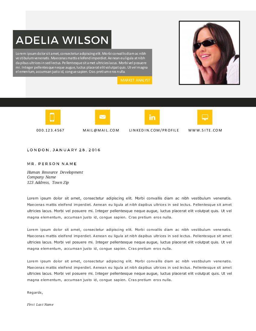 Resume Design For Ms Word, Modern Resume, Modern Resume