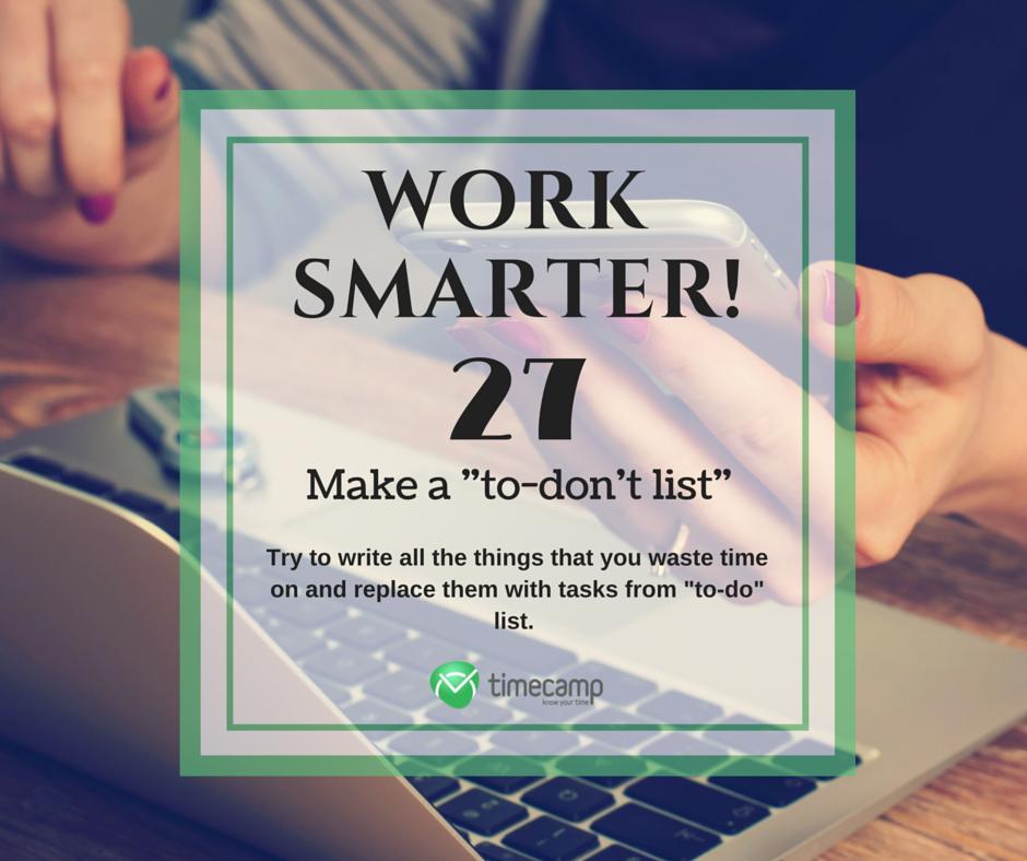 Work Smarter Means Productivity Improvement! #WorkSmarter #Productivity