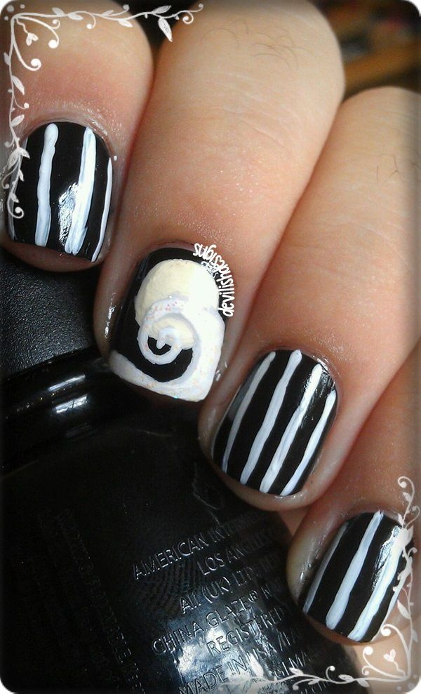 The Nightmare Before Christmas | Re-Pin Nail Exchange | Pinterest ...