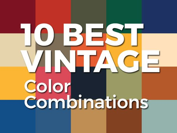 10 Best Vintage 2 Color Combinations For Logo Design With Free Swatches 2 Color Combinations Blue Color Combinations Logo Color
