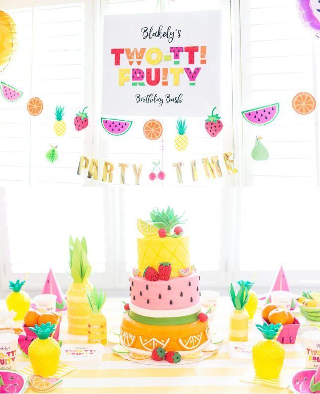 17 Super Cute Themes For Your Kid S Next Birthday Party Via Brit Co
